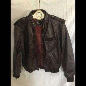 Leather Jacket for Men -size 42